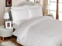 Комплект постельного белья Diamond Round (белый)