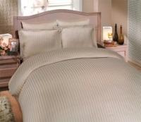 Комплект постельного белья Diamond Stripe (бежевый)