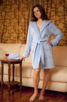 Махровый халат BANTIC (Blue Bell - голубой)