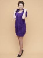Велюровый халат (377 Яркая фиалка)