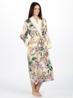 Женский шелковый халат NUSA 9015-003