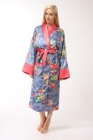 Женский шелковый халат 4