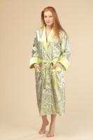Женский шелковый халат 1