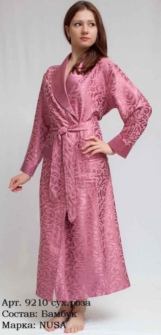 Шикарный и легкий бамбуковый халат (9210)