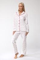 Уютная, теплая женская пижама 1401
