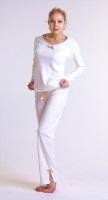 Уютная и стильная женская пижама 1407