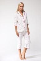 Уютная, теплая женская пижама 1402