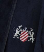 Мужской халат класса Люкс из эко материала «Luxe Velboa»