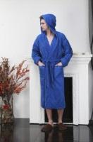Мужской махровый халат с вышивкой Ultimate Fighting Club