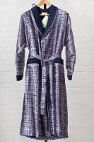 Мужской шелковый халат 8015 Burberry
