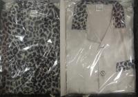 Шелковый набор для мужчин Leopardo(халат и пижамы)