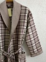 Мужской вафельный халат NS Лайт(10020 каппучино)