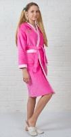 Махровый халат для девочек - Дюймовочка