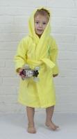 Детский банный халат из бамбука - Малыш(304 желтый)