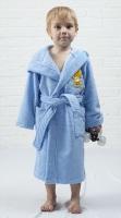 Детский банный халат из бамбука - Малыш(304 голубой)