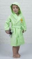 Детский банный халат из бамбука - Малыш(304 салатовый)