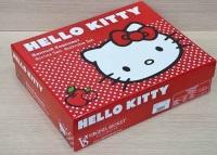 Детский банный комплект Hello Kitty (красный)