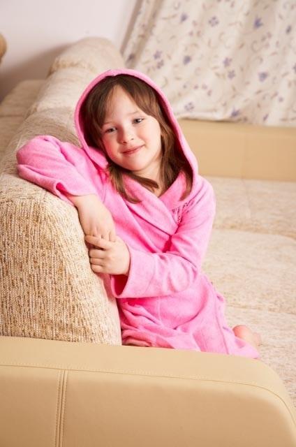 Детский халат из легкой махры 9