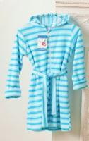 Детский халат из облегченной махры 1-3